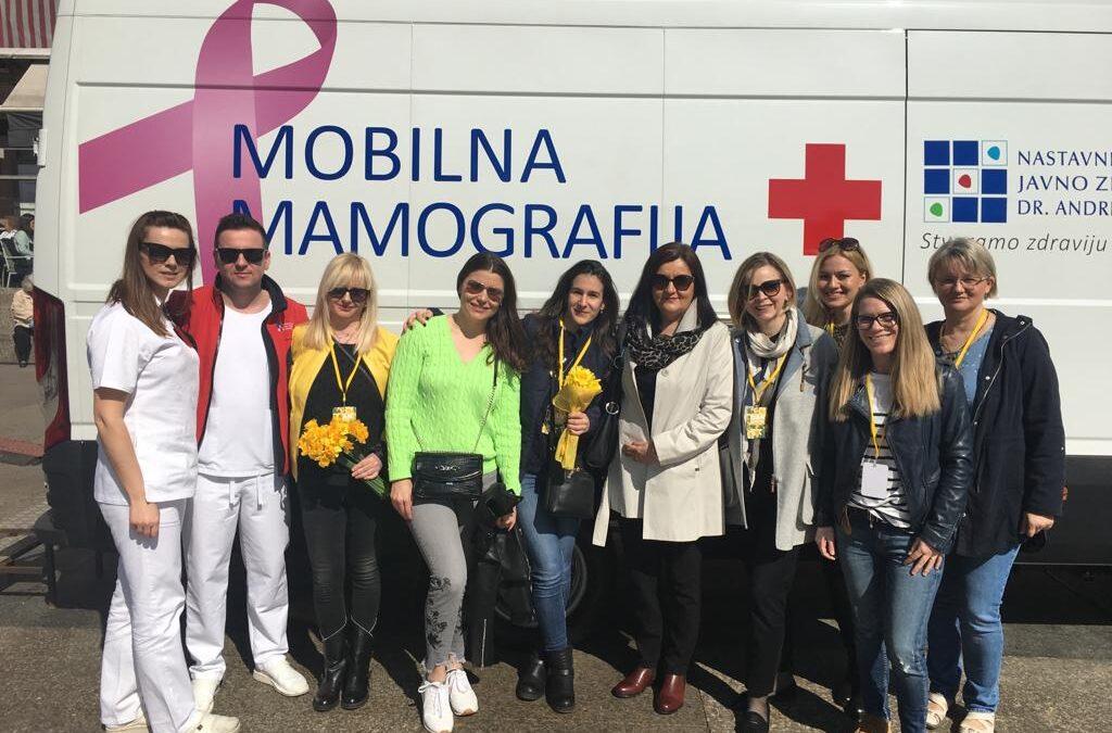 Melita Jelavić: Naš mobilni mamograf mnogim je ženama spasio život