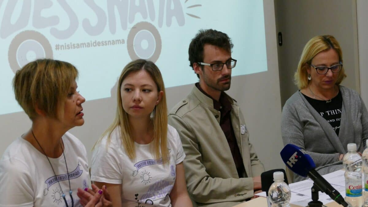 Uspješno završena crowdfunding kampanja udruge Nismo same i Zaklade Solidarna