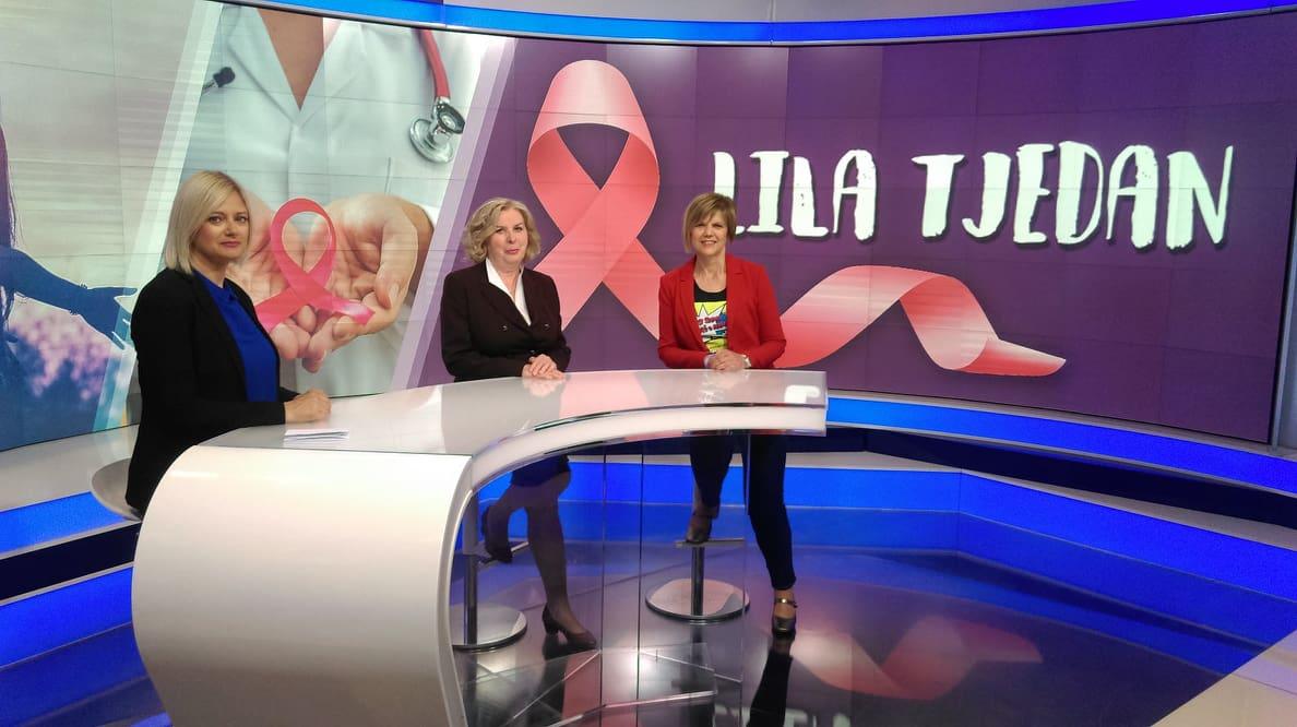 """Zbog epidemije koronavirusa otkazujemo našu kampanju """"Lila tjedan"""", a vas pozivamo da i dalje vodite brigu o svom zdravlju"""