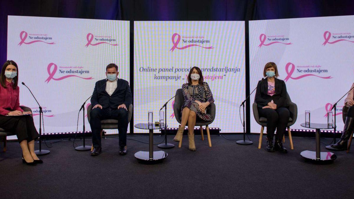 """Startala kampanja """"Ne odustajem"""" posvećena ženama oboljelima od metastatskog raka dojke"""
